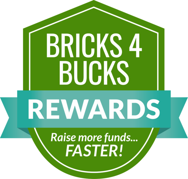 Money bucks clipart vector library library Bricks 4 Bucks Bonus Rewards Program - Fundraising Brick vector library library