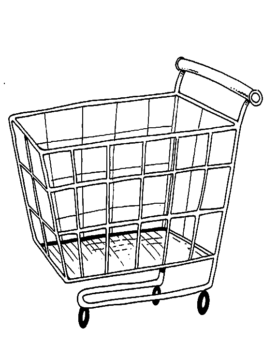 Money cart clipart graphic transparent Shopping Cart Drawing at GetDrawings.com | Free for personal use ... graphic transparent