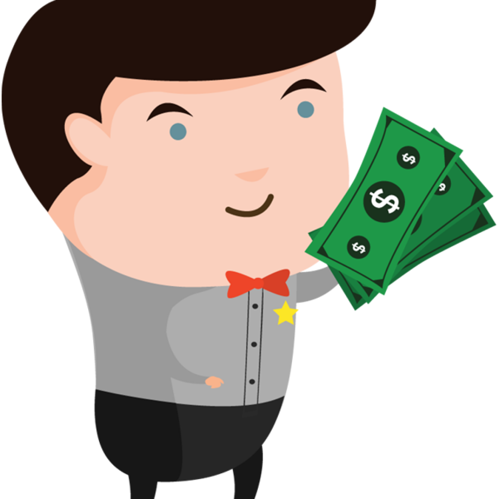 Money cartoon character clipart clipart free Money bag Cartoon Clip art - money bag 1024*1024 transprent Png Free ... clipart free