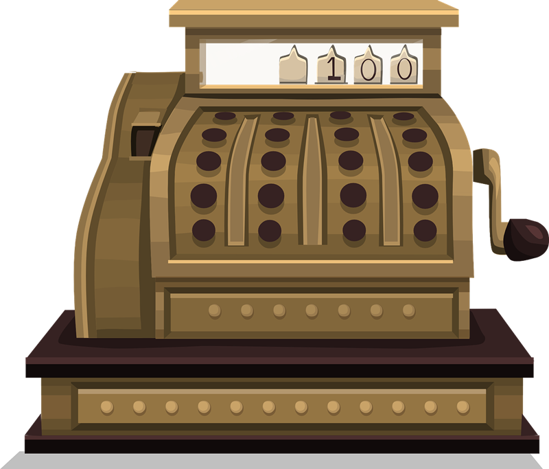 Retro money clipart image royalty free 28+ Collection of Vintage Cash Register Clipart | High quality, free ... image royalty free