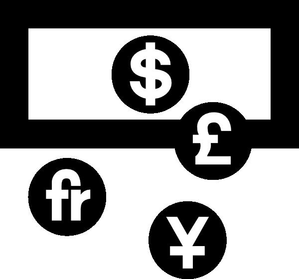 Money change clipart vector royalty free stock Aiga Symbol Signs 27 Clip Art at Clker.com - vector clip art online ... vector royalty free stock