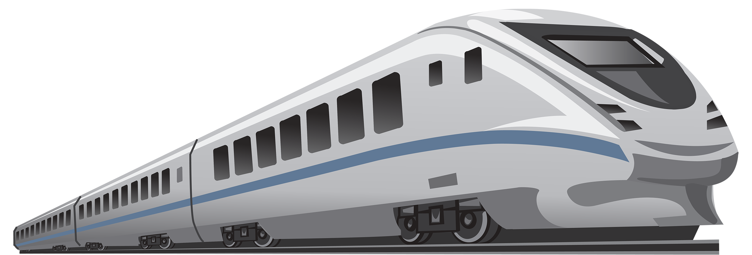 Train dining car clipart clipart black and white Modern Train PNG Clipart - Best WEB Clipart clipart black and white