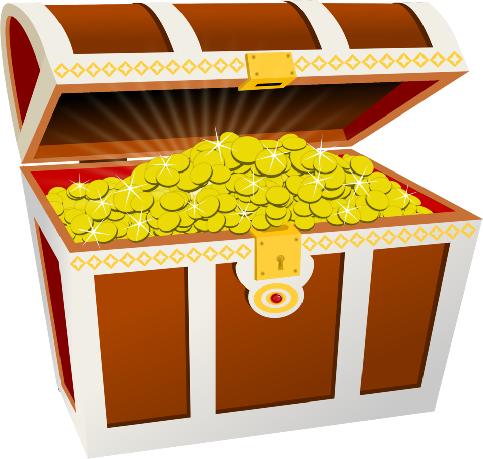 Money clipart side view jpg freeuse library Public Domain Clip Art Image | Treasure chest | ID: 13925346618809 ... jpg freeuse library