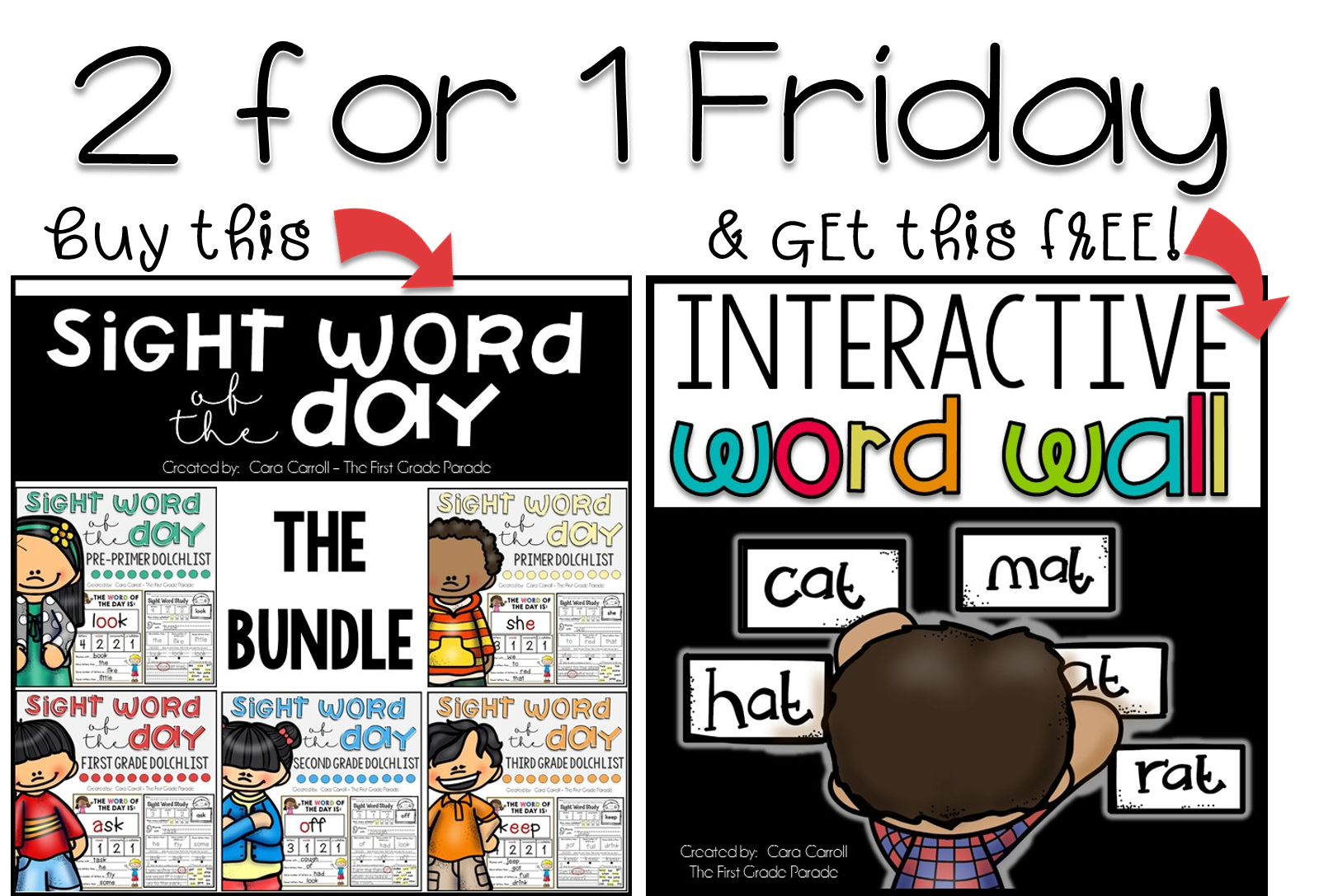 Money clipart synonym for every two years clip art black and white Sight Words & Freebies - The First Grade Parade clip art black and white