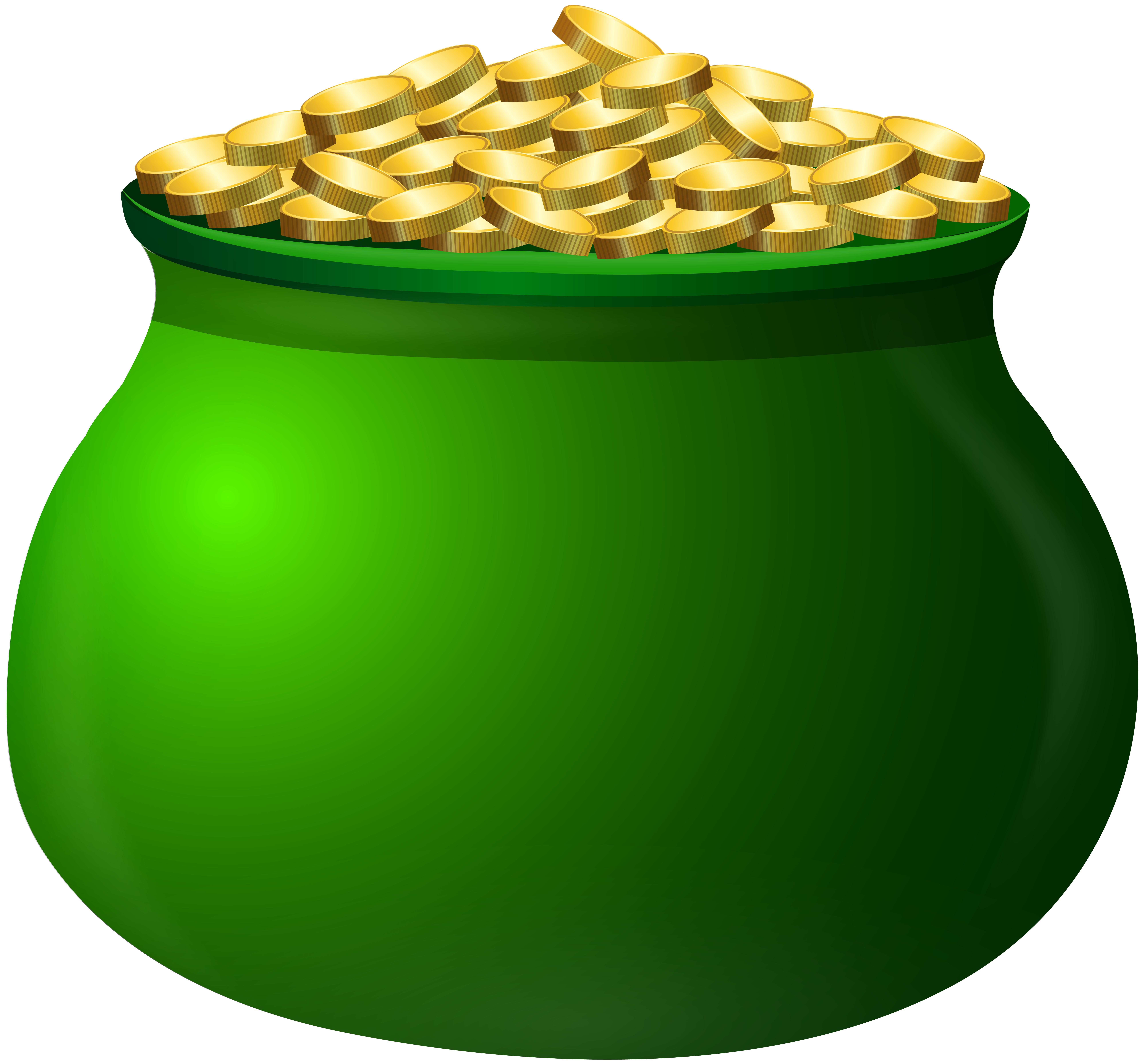 Money clipart without background clipart St Patrick's Day Pot of Gold Clip Art Image | Gallery Yopriceville ... clipart