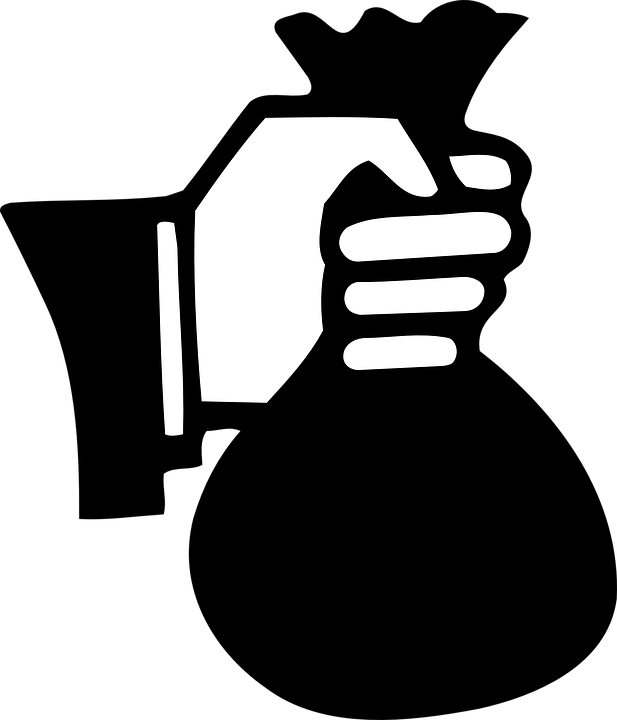 People with money in their hand clipart black and white Free Hand Money Icon 111023 | Download Hand Money Icon - 111023 black and white