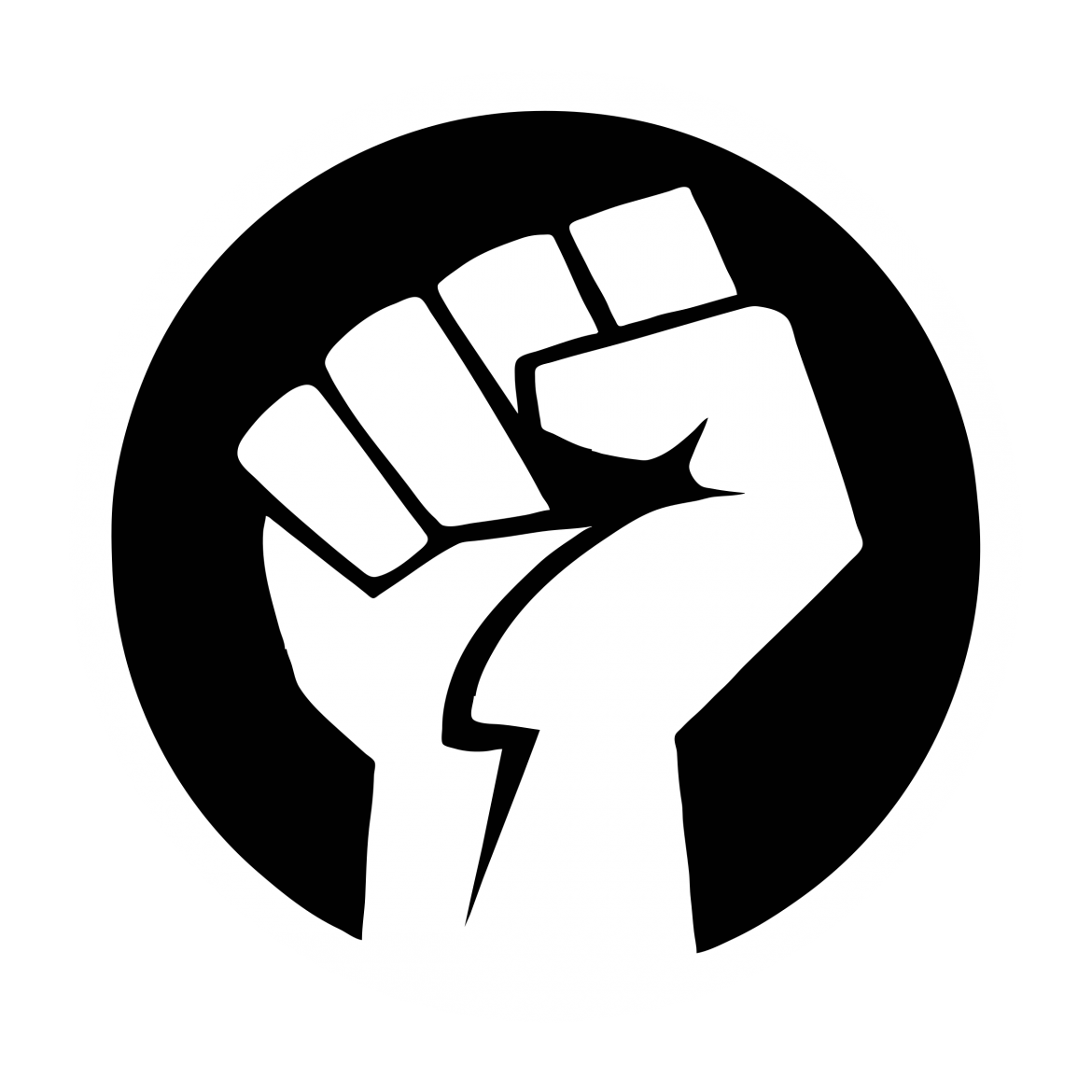 Money fist icon black white clipart prayer vector free library Are Humans Constantly in Pursuit of Power? | Youth Are Awesome vector free library