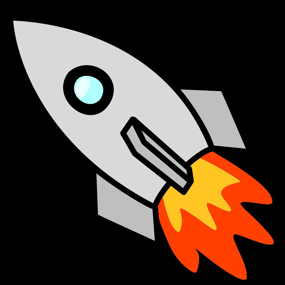 Money flies away clipart vector royalty free library Picture Of A Rocket (57+) vector royalty free library