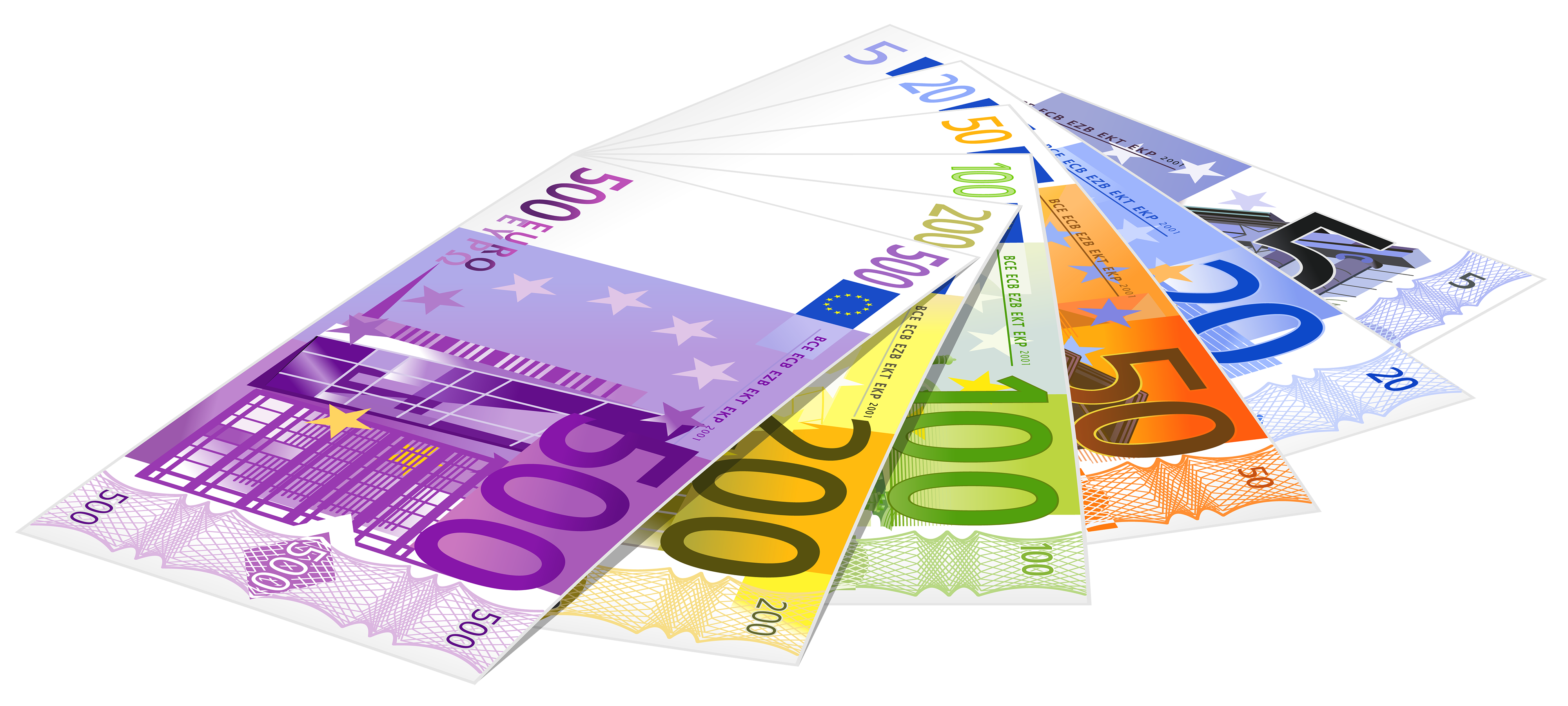Money flying out the window clipart clipart royalty free stock Euro Banknotes PNG Clipart - Best WEB Clipart clipart royalty free stock