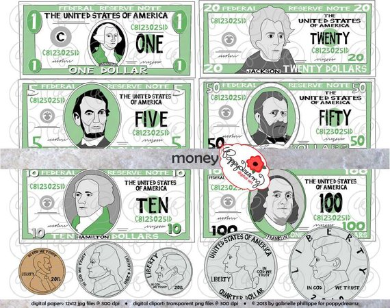 Money for teacher clipart svg freeuse library Money Clipart Set - (300 dpi) School Teacher Clip Art Math ... svg freeuse library