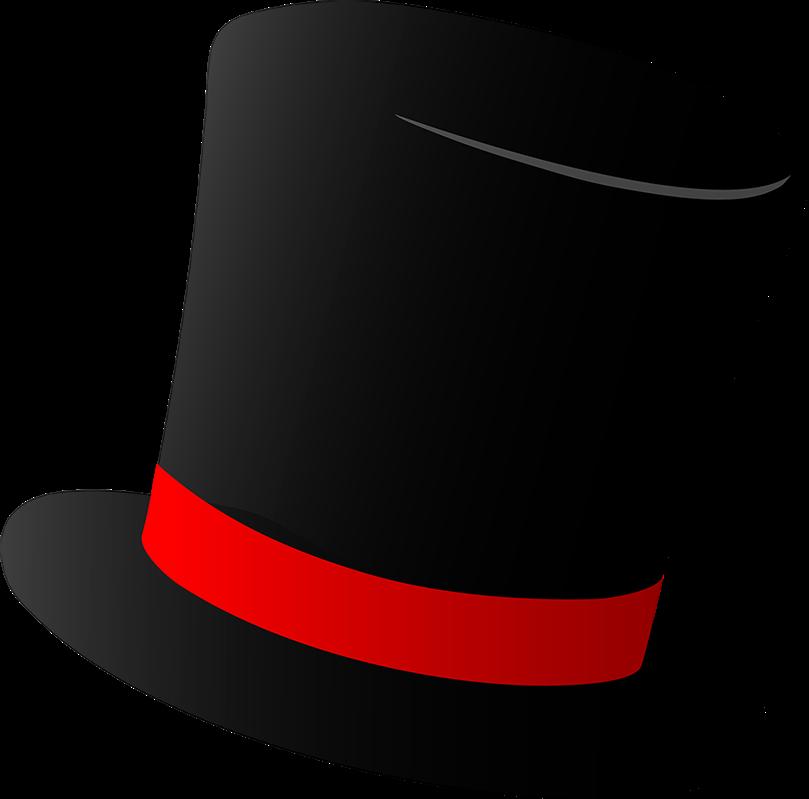 Top hat money clipart