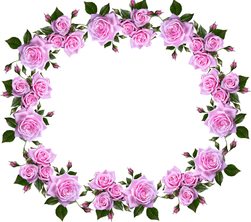 Money horizontal border clipart picture freeuse stock Free photo Floral Decorative Border Roses Frame - Max Pixel picture freeuse stock