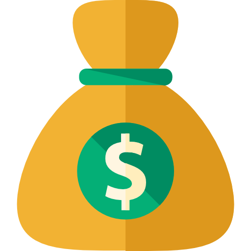 Money icon clipart jpg library download Bag of money icon clipart images gallery for free download ... jpg library download