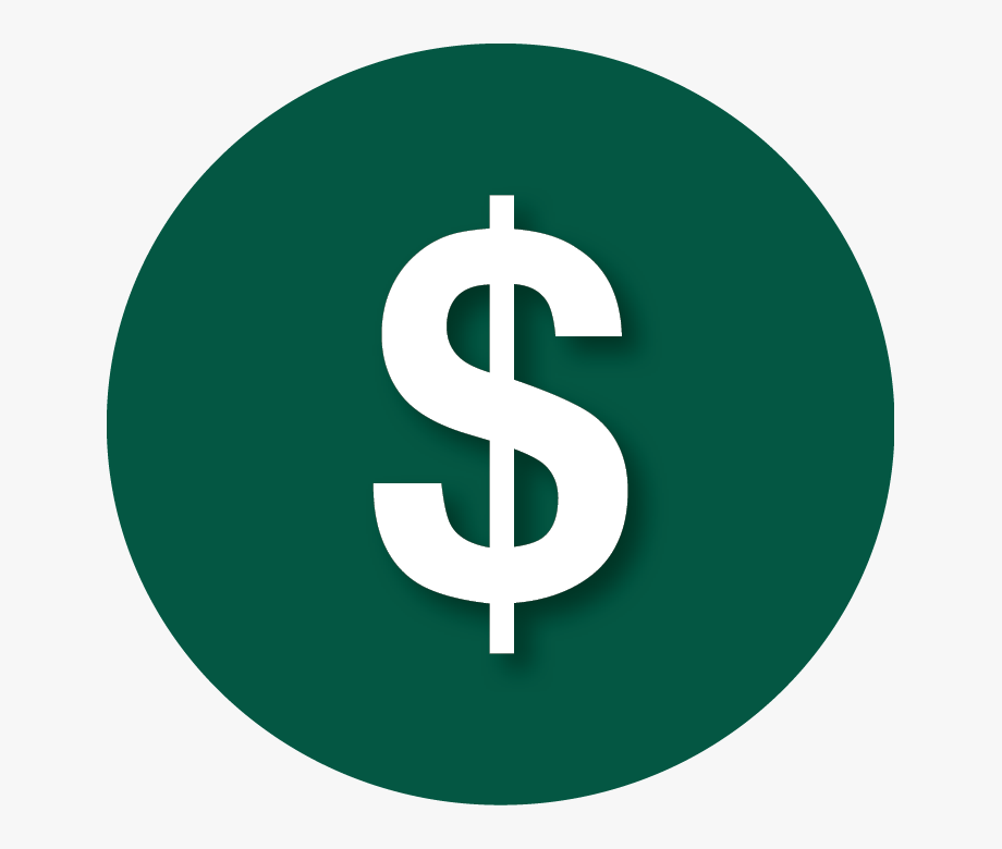 Money icon clipart vector freeuse library Green Dollar Signs Png - Round Money Icon Png #930074 - Free ... vector freeuse library
