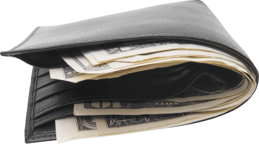 Wallet with money clipart vector transparent download black wallet with money png - Free PNG Images | TOPpng vector transparent download