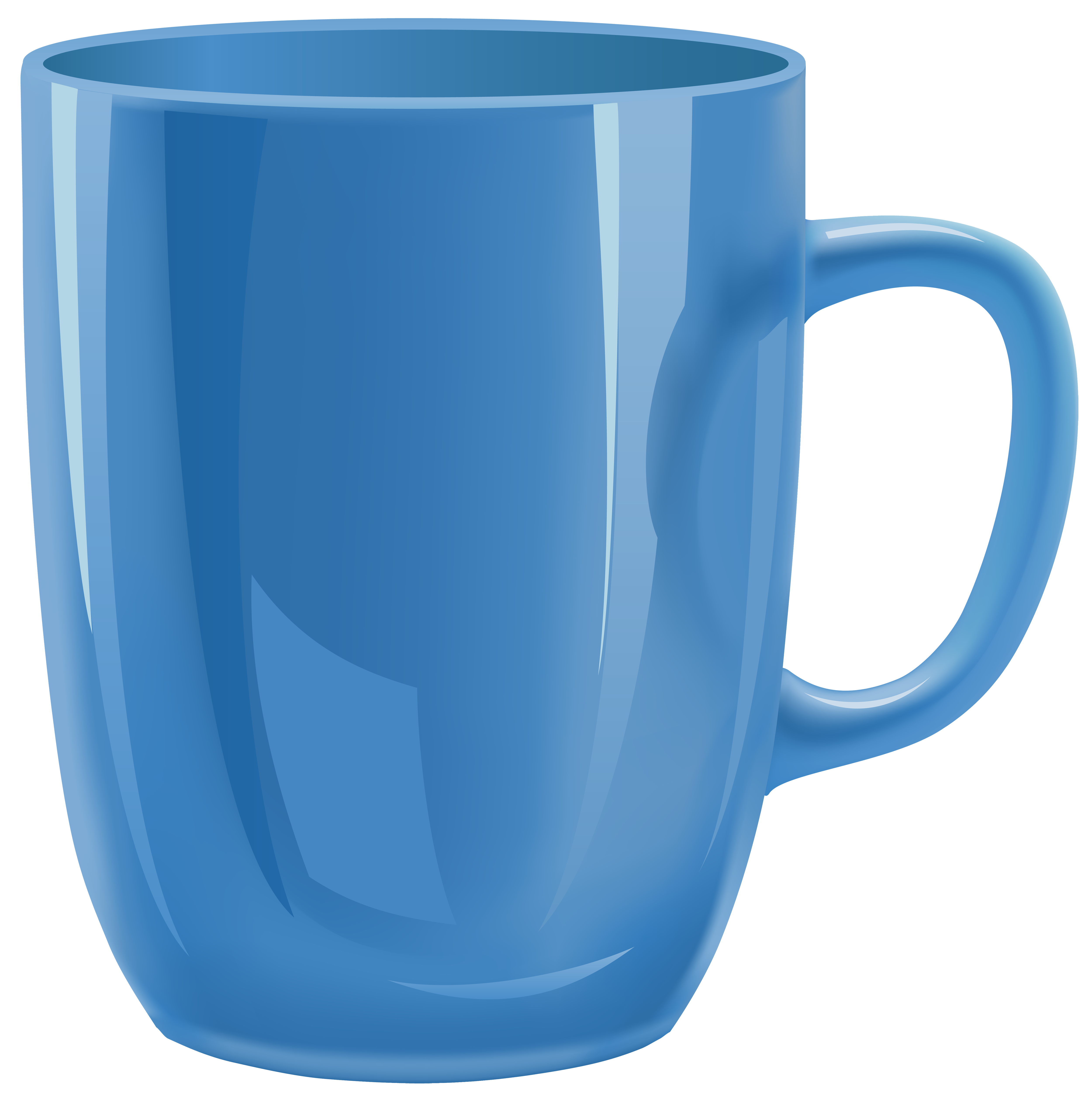 Money in glass cup clipart png library download Blue Cup PNG Clipart - Best WEB Clipart png library download