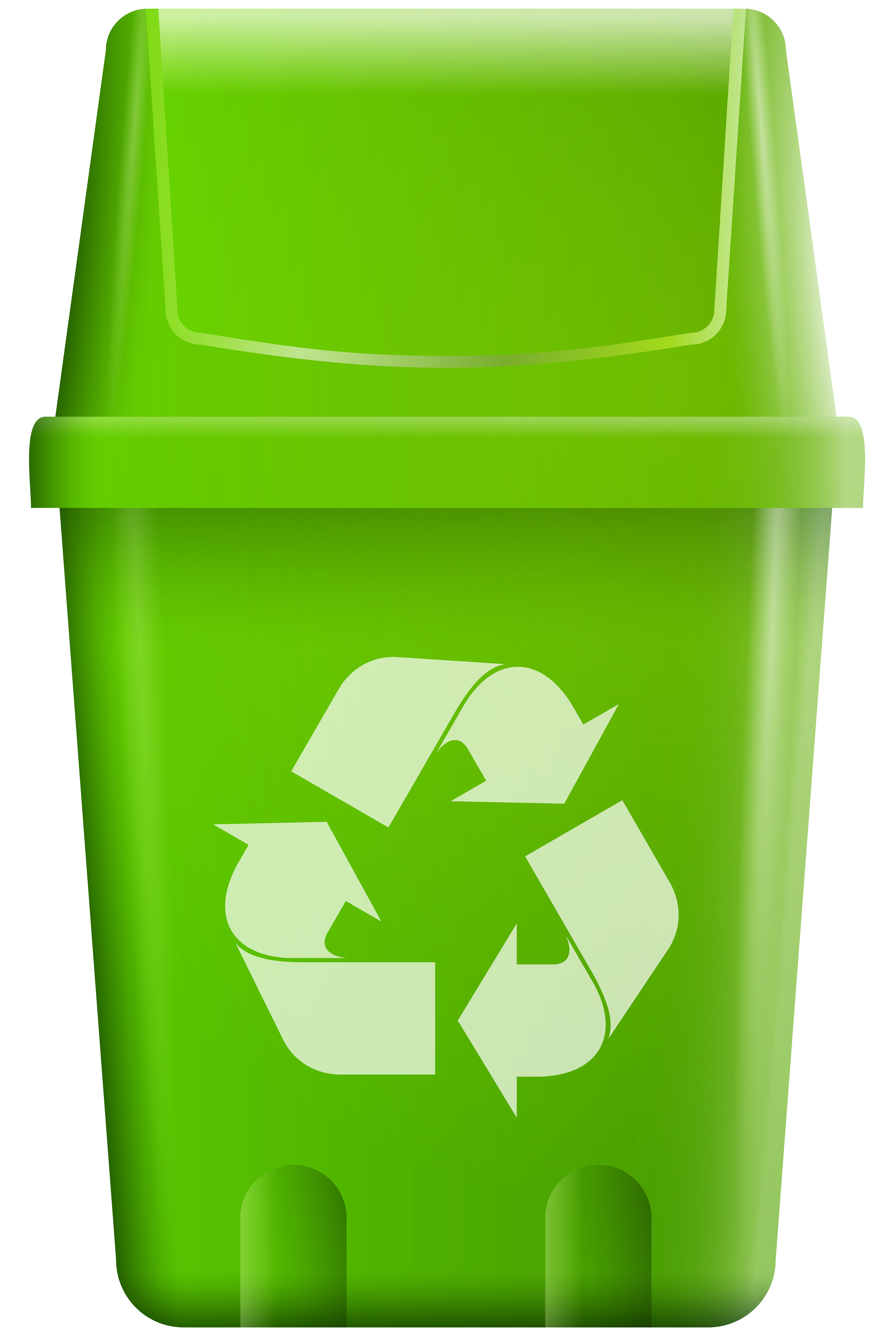 Recycle heart clipart jpg download Trash Bin with Recycle Symbol PNG Clip Art - Best WEB Clipart jpg download