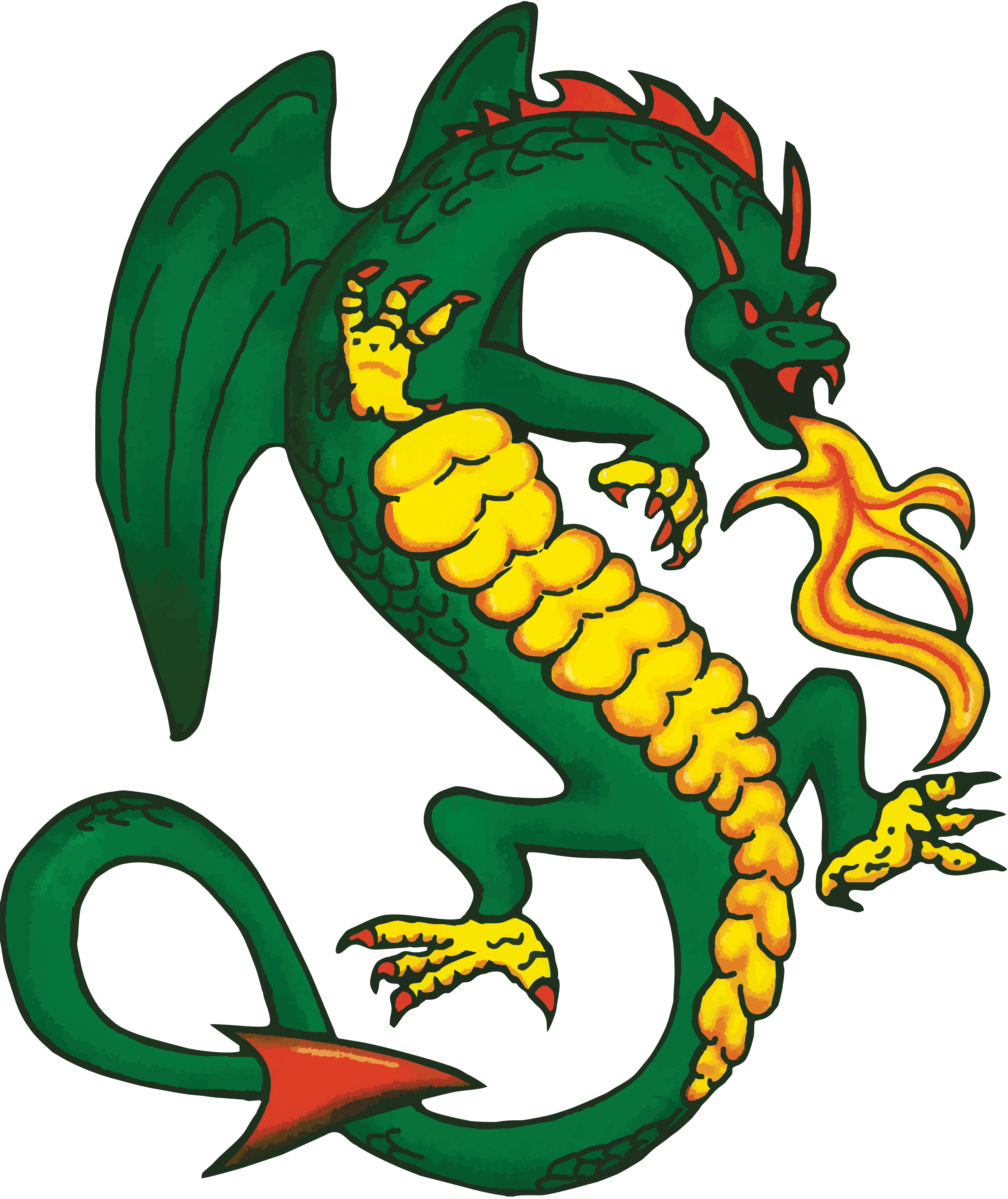 Money maker clipart vector black and white library Dragon Society International: vector black and white library