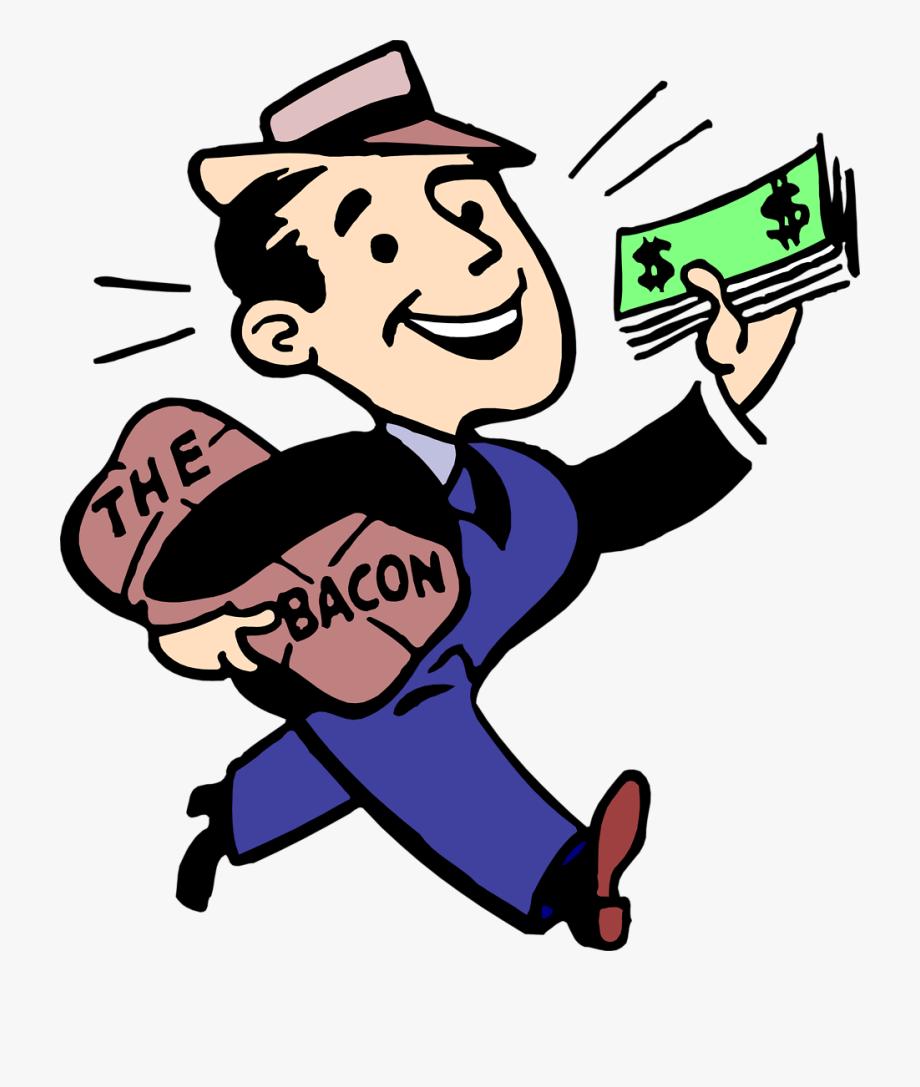Money making clipart image free stock Making Money Clipart - Bring Home The Bacon Clipart ... image free stock