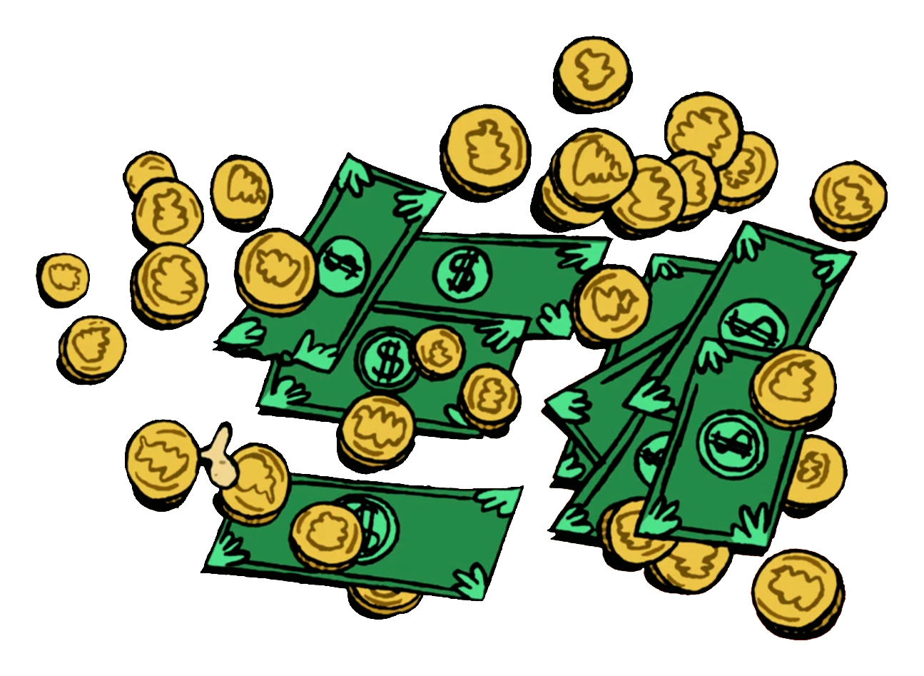 Money pile clipart jpg download Money | Chowder Fan Club | FANDOM powered by Wikia jpg download