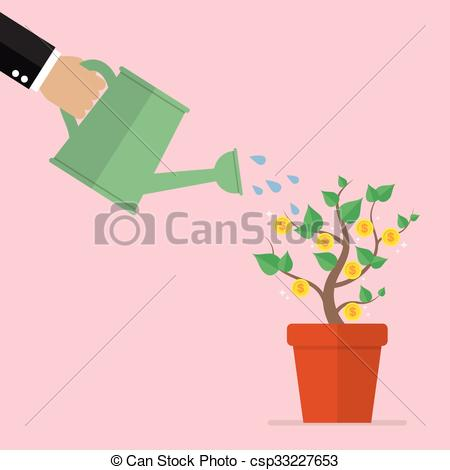 Money plant images clipart svg library library Money plant Vector Clipart EPS Images. 3,838 Money plant clip art ... svg library library