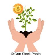 Money plant images clipart vector free stock Money plant Vector Clipart EPS Images. 3,838 Money plant clip art ... vector free stock