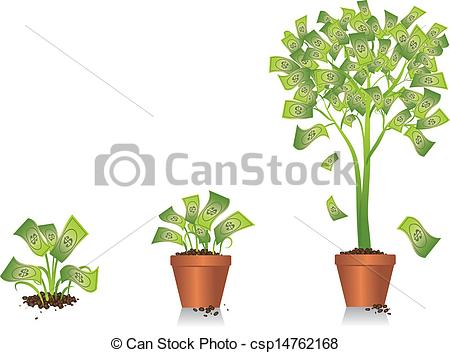 Money plant images clipart picture freeuse Drawings of Planting Seed Money - A conceptual image using a ... picture freeuse