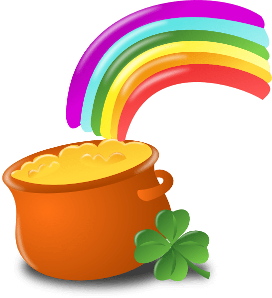 Money pot clipart jpg library download 28+ Collection of St Patricks Day Clipart Transparent | High quality ... jpg library download