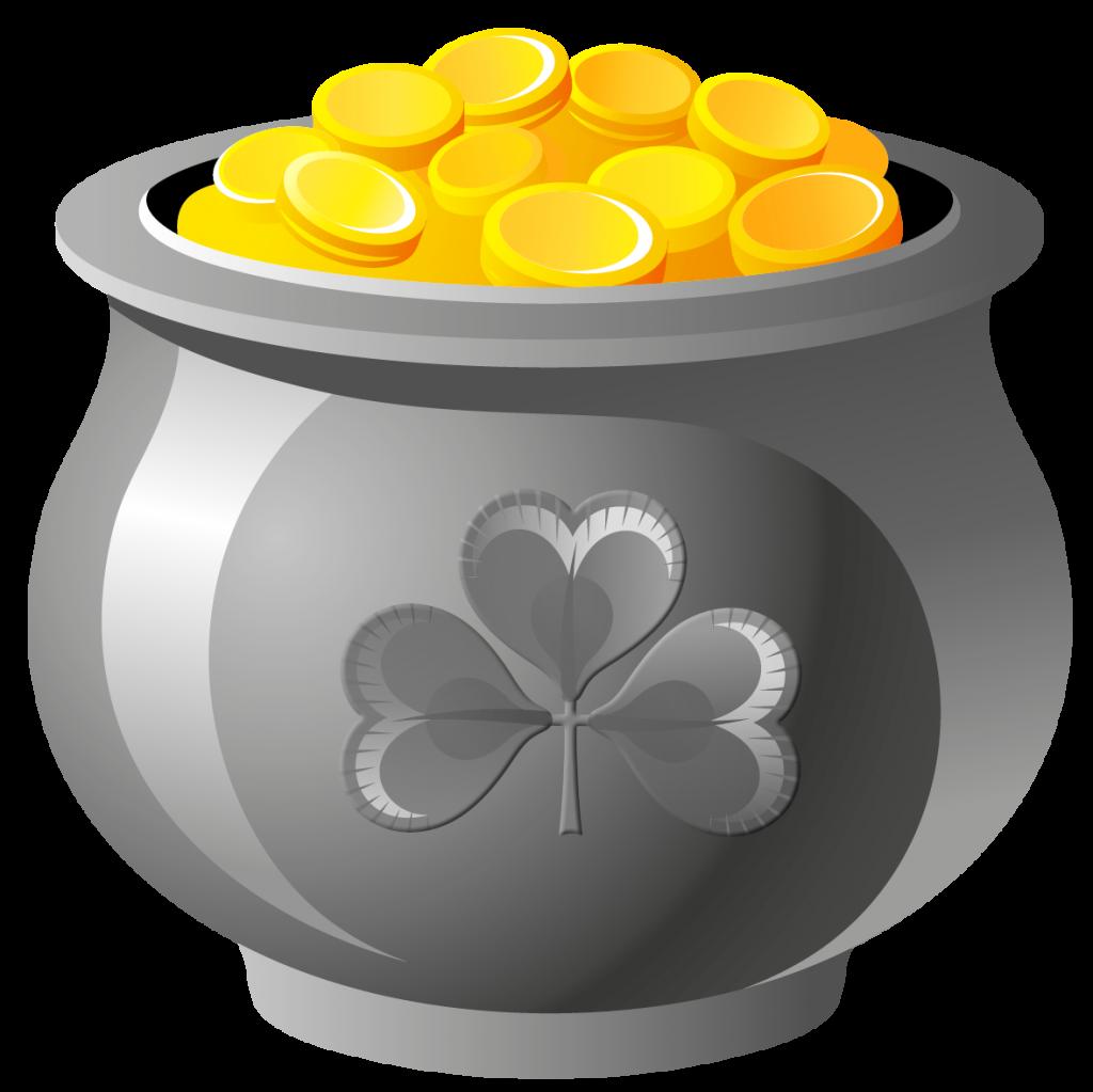Money pot clipart image transparent Unique Pictures Of Pots Gold Free Clipart #520 image transparent