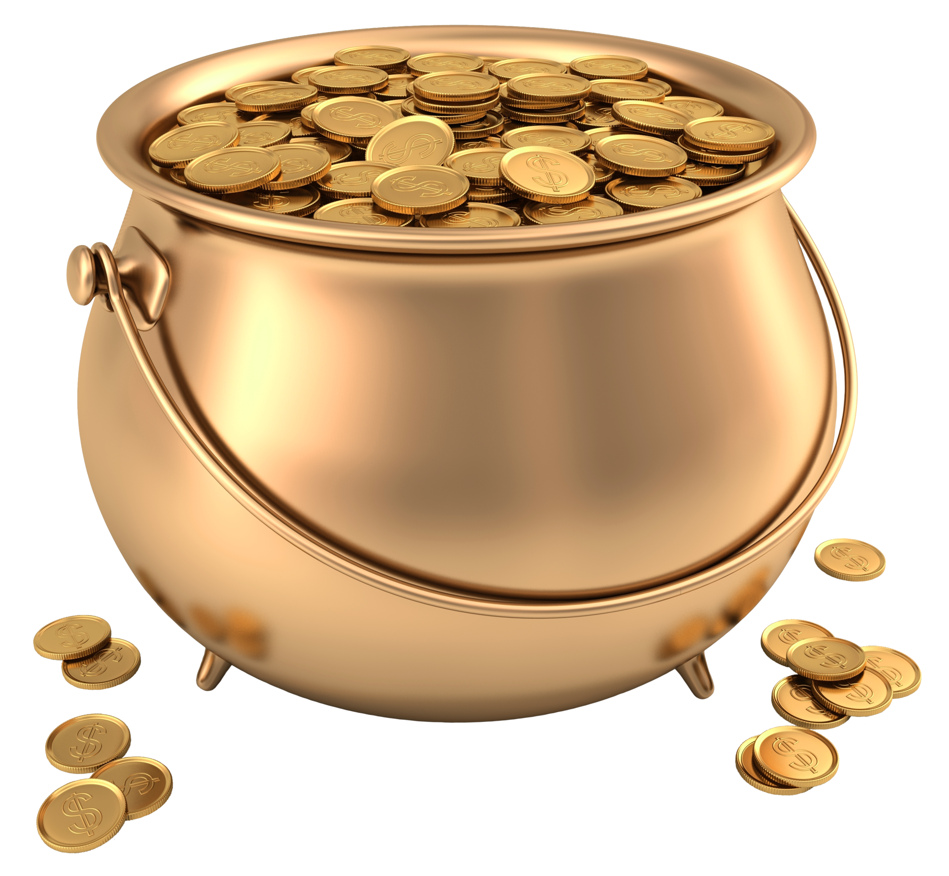 Money pot clipart banner free download Pot of Gold PNG Picture Clipart | Gallery Yopriceville - High ... banner free download