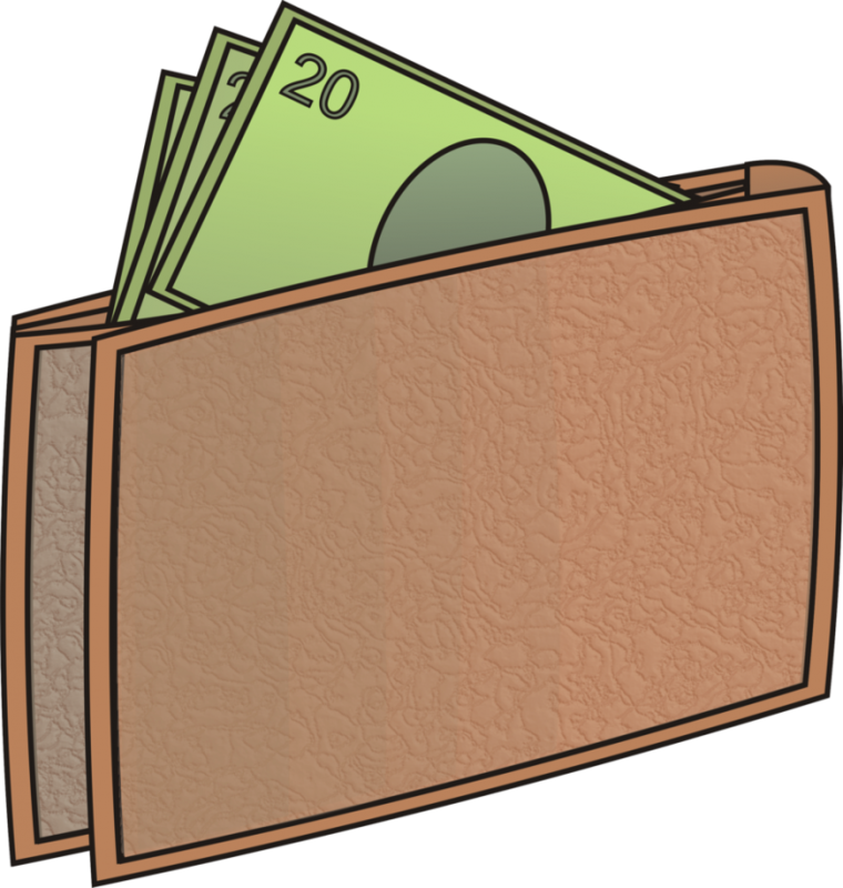Thinking of money clipart vector download Wallet Clipart at GetDrawings.com | Free for personal use Wallet ... vector download