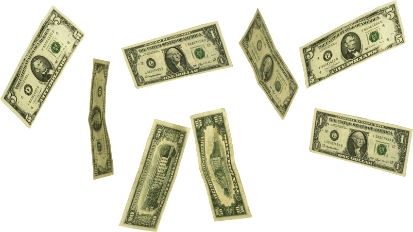 Money rain clipart picture transparent download falling money png - Free PNG Images | TOPpng picture transparent download