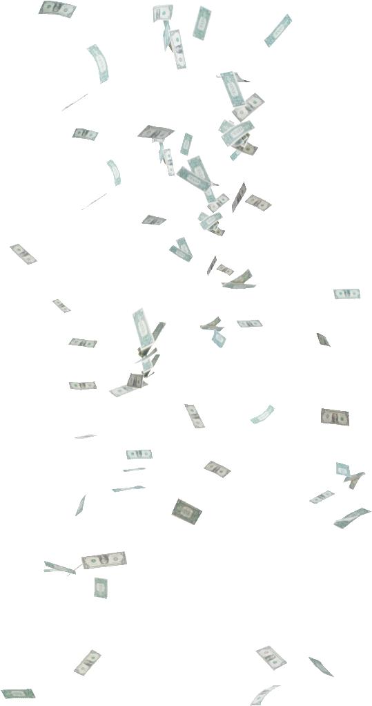 Money raining clipart jpg freeuse stock Falling money PNG images free download jpg freeuse stock
