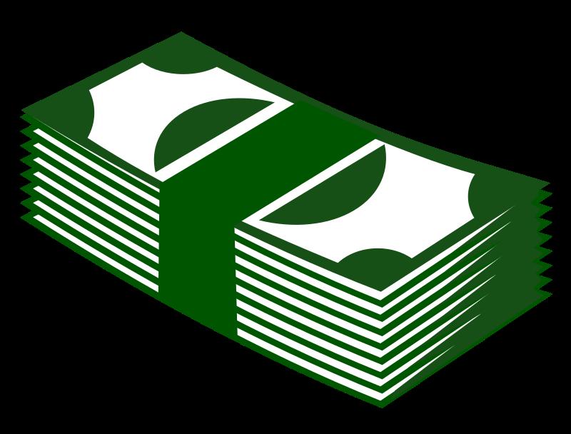 Pape money clipart