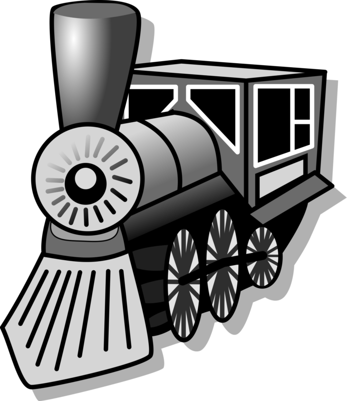 Subway car clipart clip library Free Train Cliaprt Black And White Images 【2018】 clip library