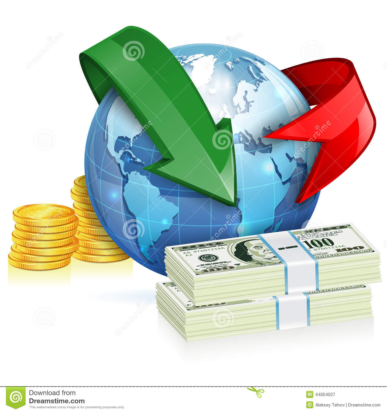 Money transfer clipart black and white Money Transfer, Financial Transaction, Global Finance Vector ... black and white