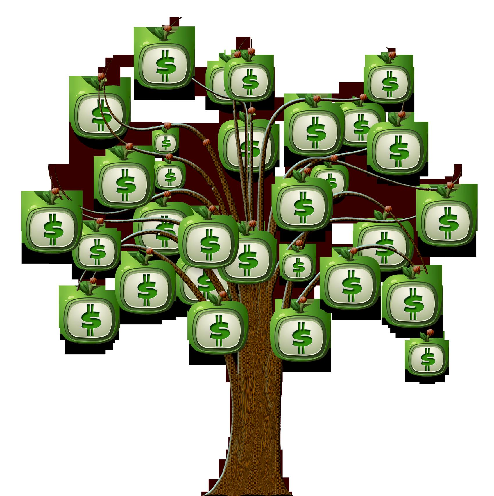 Money tree clipart svg free Dollar Tree PNG Transparent Image - PngPix svg free