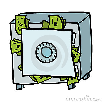 Money vault clipart image transparent library Money vault clipart - ClipartFest image transparent library
