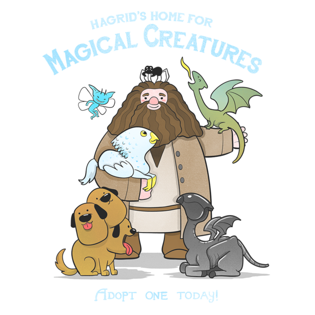 Money waving goodby clipart image library Check out this awesome 'Hagrid's Home for Magical Creatures' design ... image library