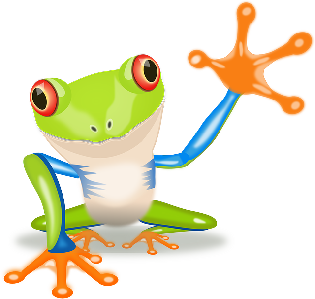 Money waving goodby clipart graphic library library Top 10 Types of Frogs in the world graphic library library