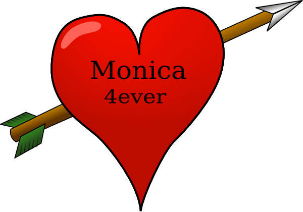 Monica clipart clipart stock Monica 4ever Clip Art at Clker.com - vector clip art online ... clipart stock