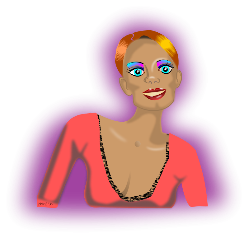 Monica clipart image free stock Free Clipart: Monica | bedpanner image free stock