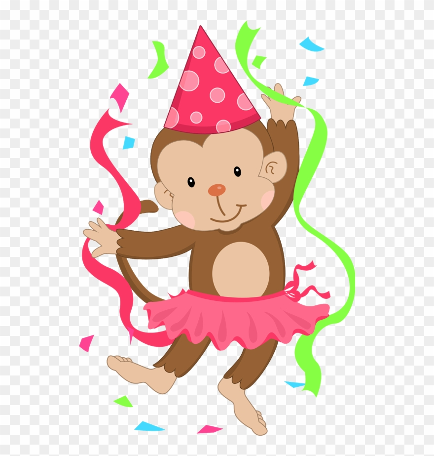 Monkey clipart birthday clipart library download B *✿* De Duda Cavalcanti Happy Birthday Girls, Moms ... clipart library download