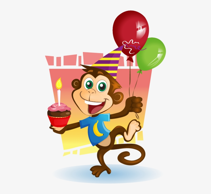 Monkey clipart birthday clip download Birthday Clipart Monkey - Monkey Birthday Clip Art ... clip download