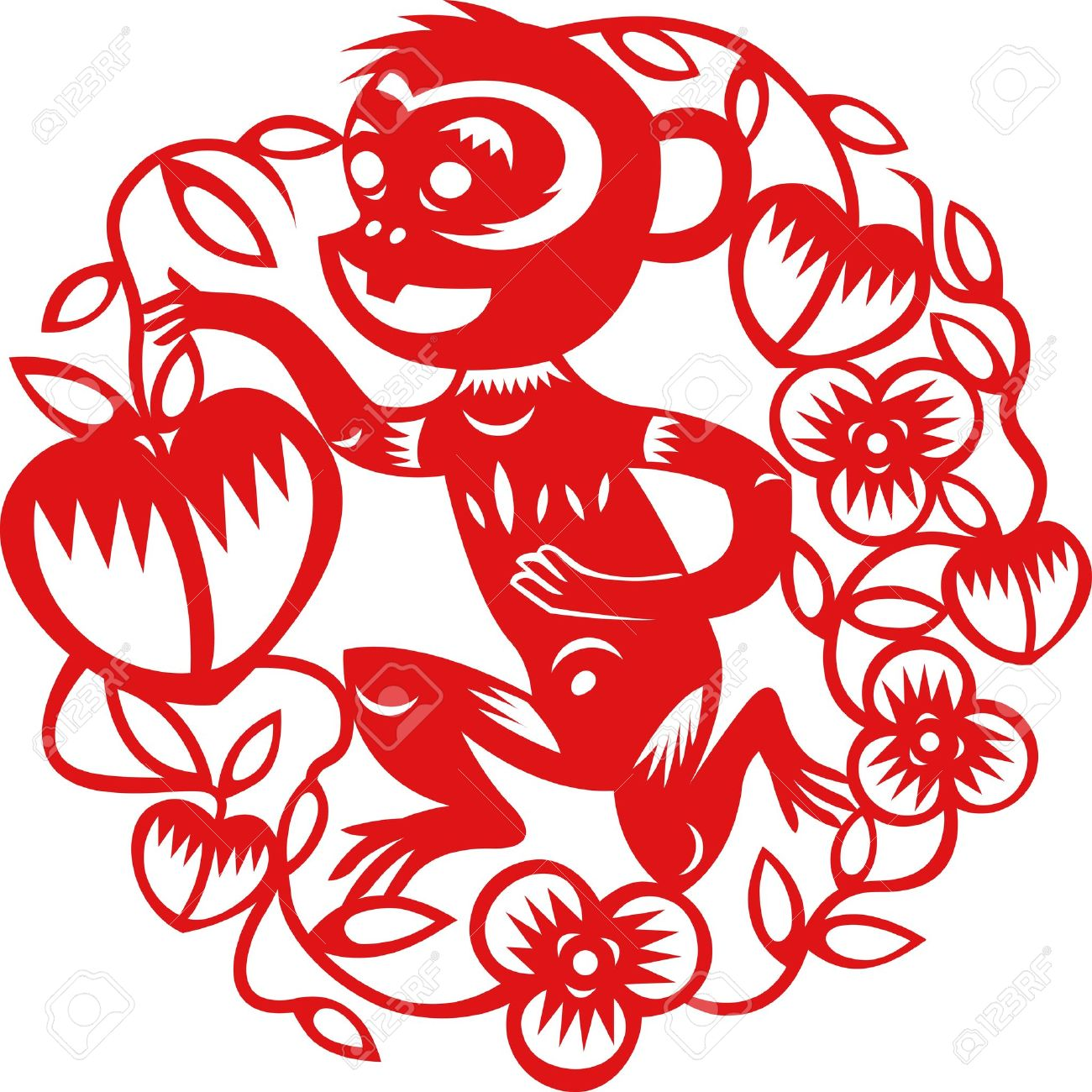 Monkey clipart icon new year royalty free Chinese monkey new year clipart - ClipartFox royalty free