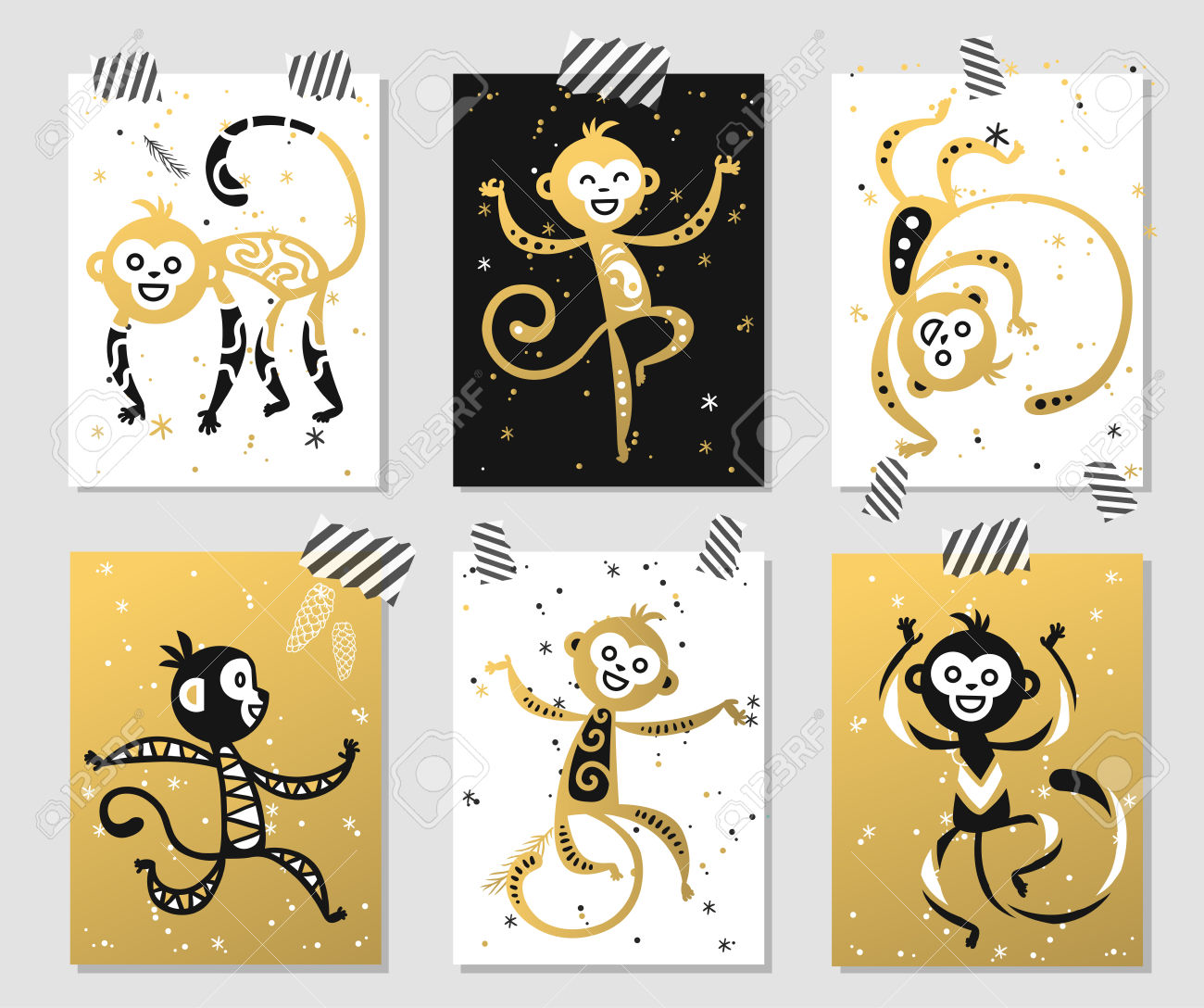 Monkey clipart icon new year banner library download Chinese New Year Monkey Vector Decoration Ball Icon. 2016 New ... banner library download