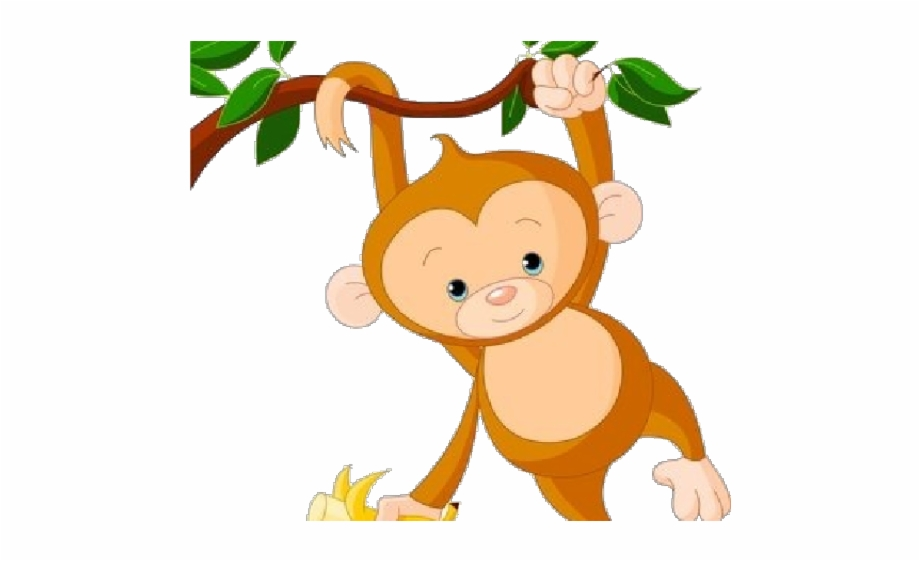 Monkey clipart png svg free stock Monkey Clipart Transparent Background - Hanging Monkey ... svg free stock