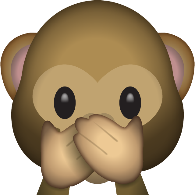 Monkey emoji clipart jpg black and white library Download Speak No Evil Monkey Emoji   emoji   Emoji, Emoji ... jpg black and white library