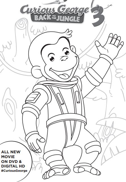 Monkey george of the jungle clipart black and white clip royalty free George Of The Jungle Coloring Pages clip royalty free