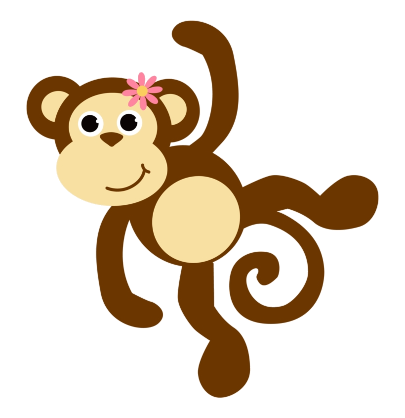 Monkey girl clipart graphic freeuse Monkey Free Images Mon Clipart No Background Baby Girl ... graphic freeuse